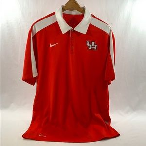 "Nike DRI-FIT ""University of Houston"" Polo"